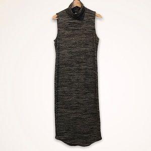 Turtleneck Midi Hourglass Dress